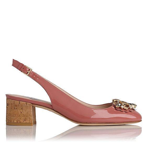 Elvira Patent Heel