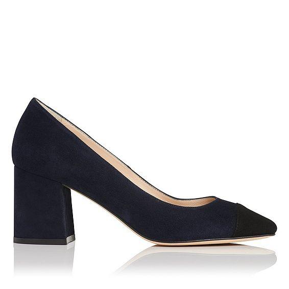 Francesca Suede Heel