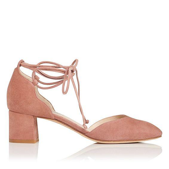 Lali Pink Suede Heel