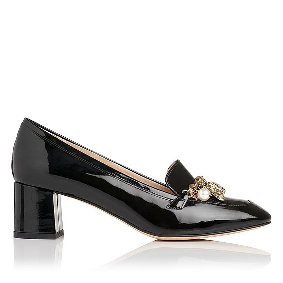 Maribel Patent Leather Heel