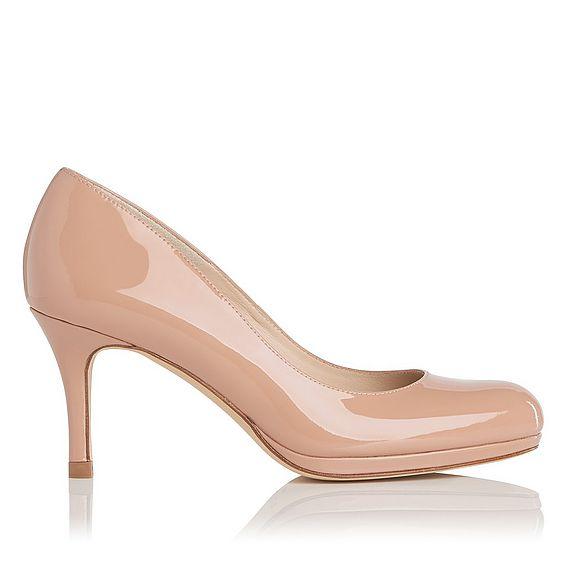 Sybila Patent Leather Heel