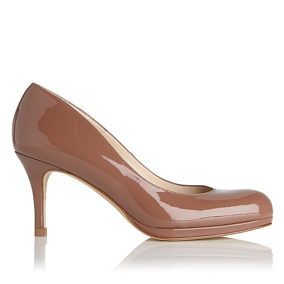 Sybila Winter Rose Patent Leather Heel