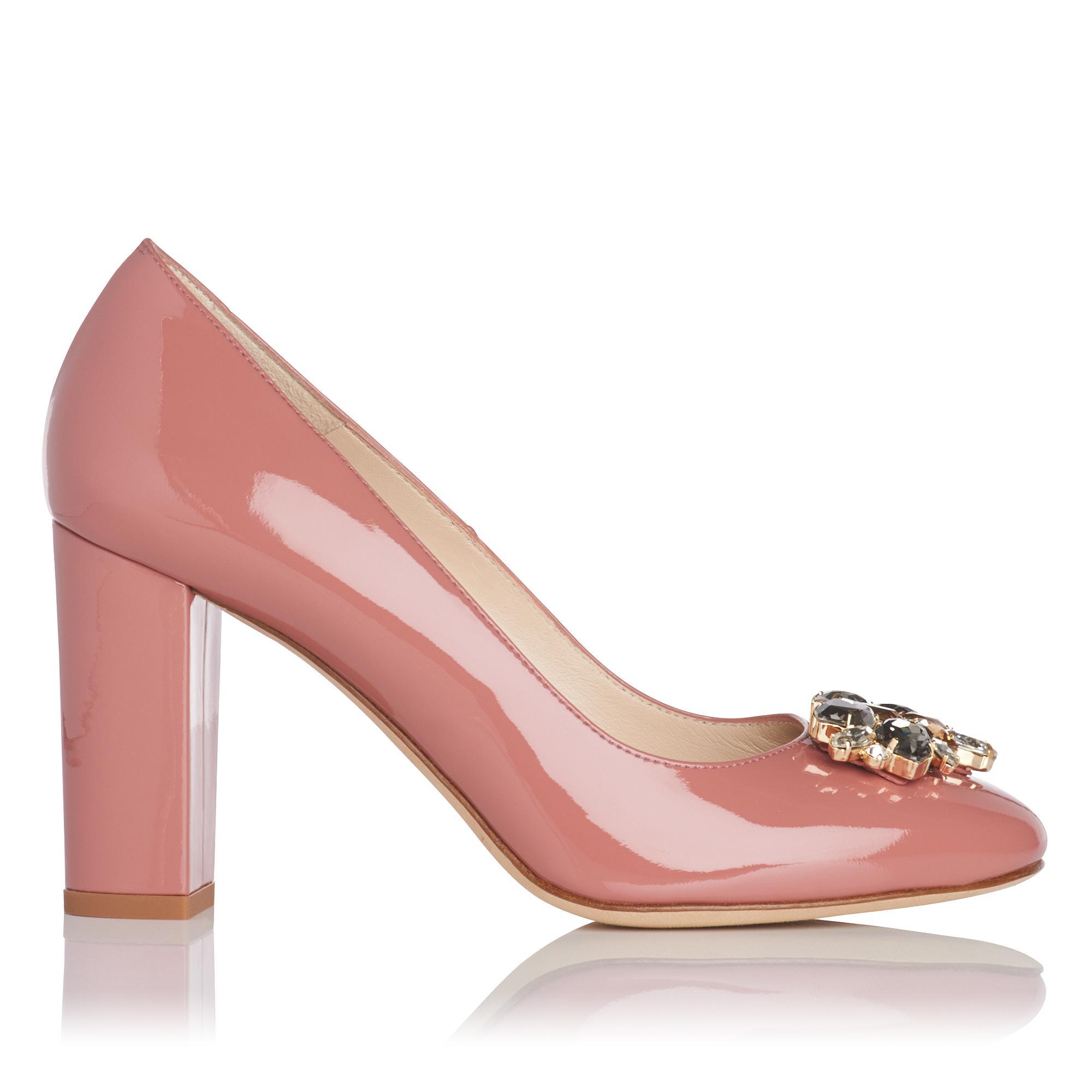 Tonnia Pink Patent Heel