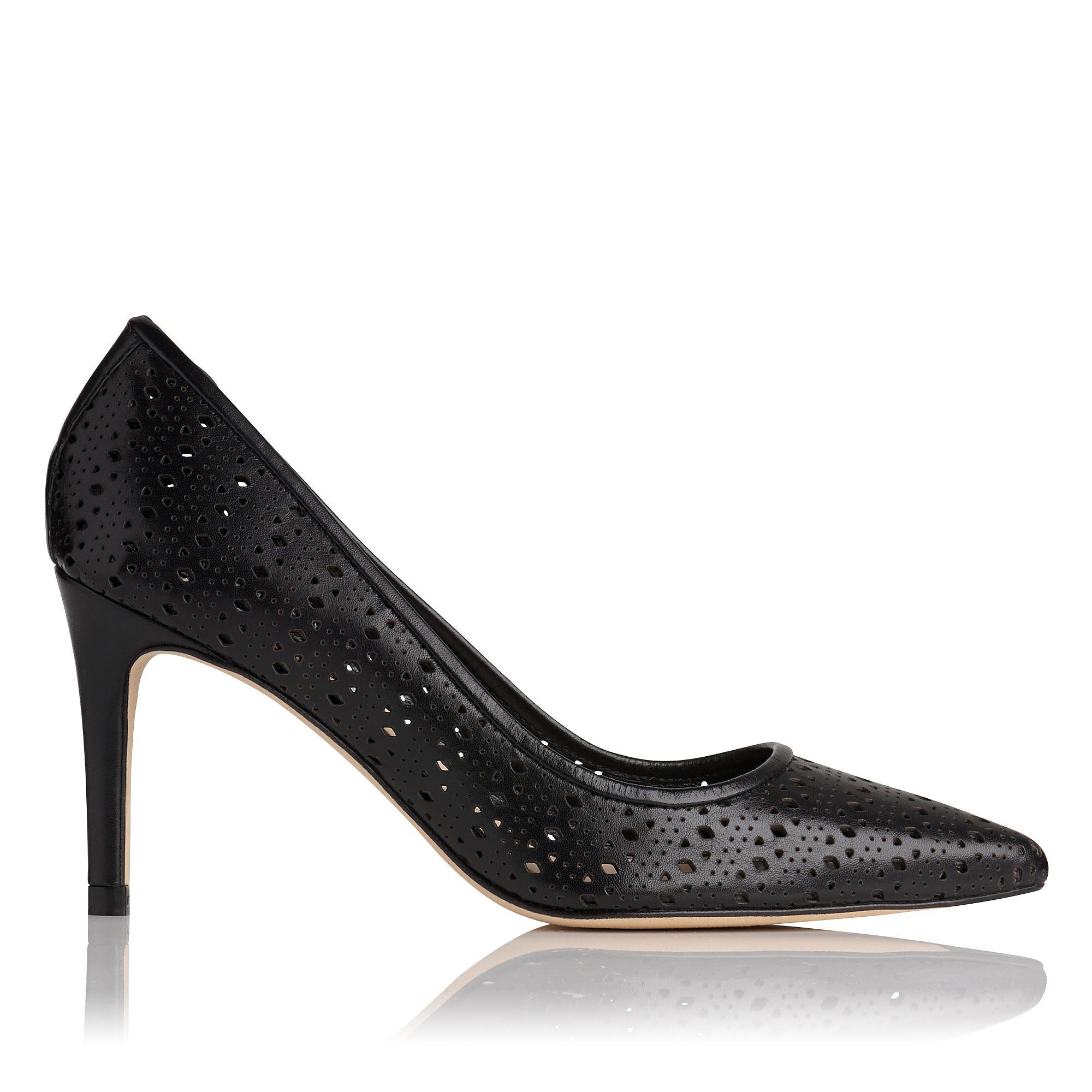 Vivienne Black Heel