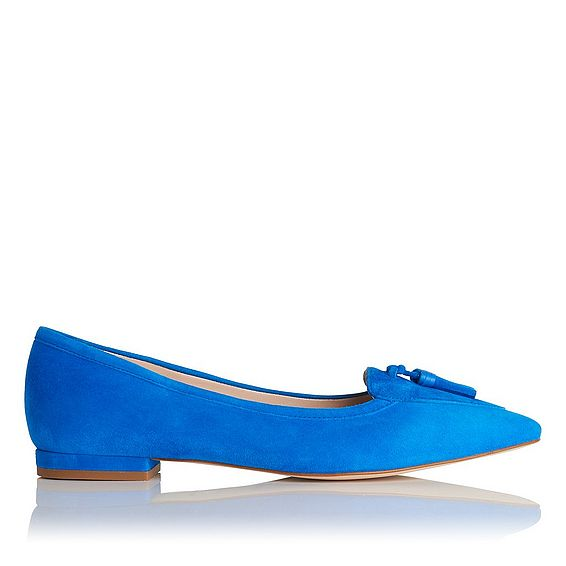 Dixie Suede Flats