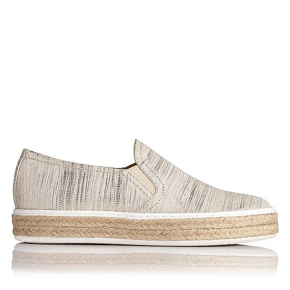 Esther White Espadrille