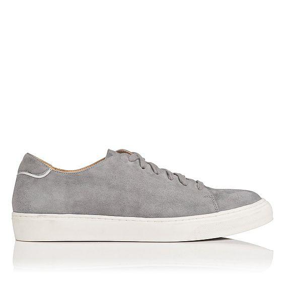 Reese Grey Suede Sneaker