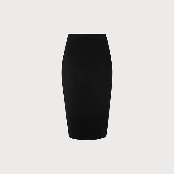 Judi Black Pencil Skirt
