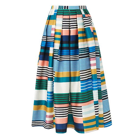 Tippi Multi Color Full Skirt