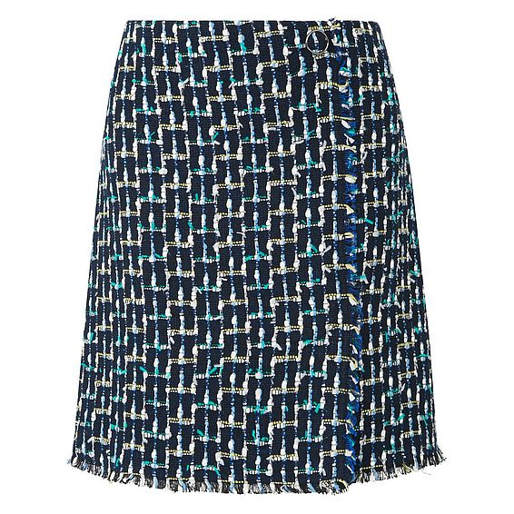 Vetti Tweed Skirt