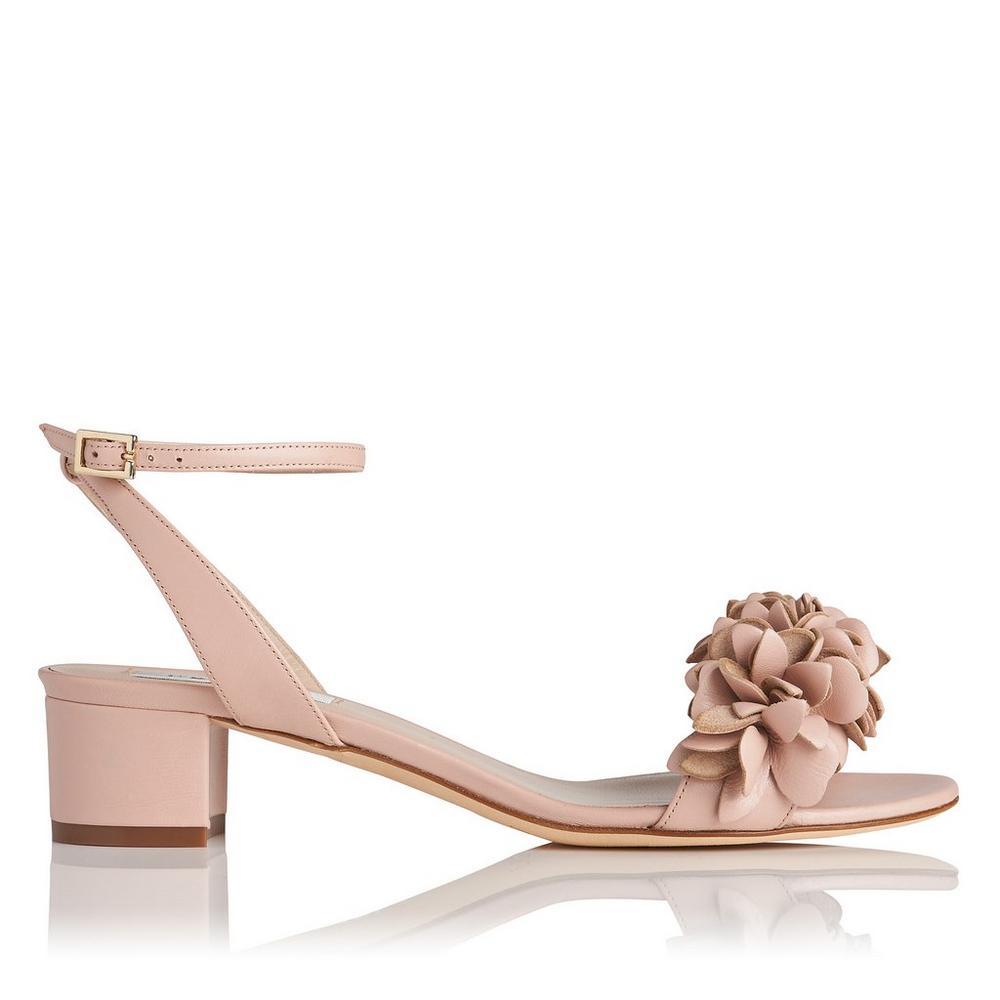 L.K. Bennett Coralie Block Heel Sandal