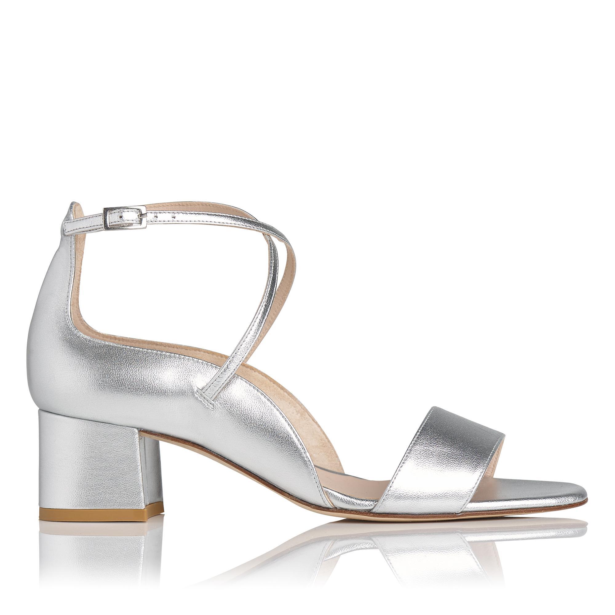 Dina Silver Metallic Sandal