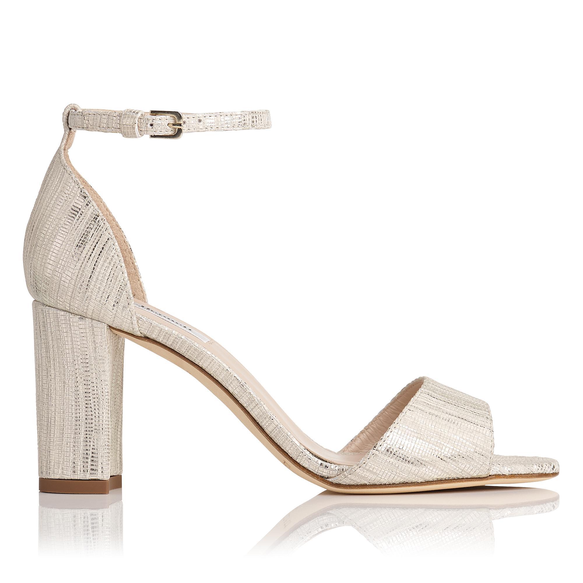 L.K.Bennett Helena Metallic Sandal