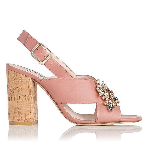 Ynes Leather Sandal