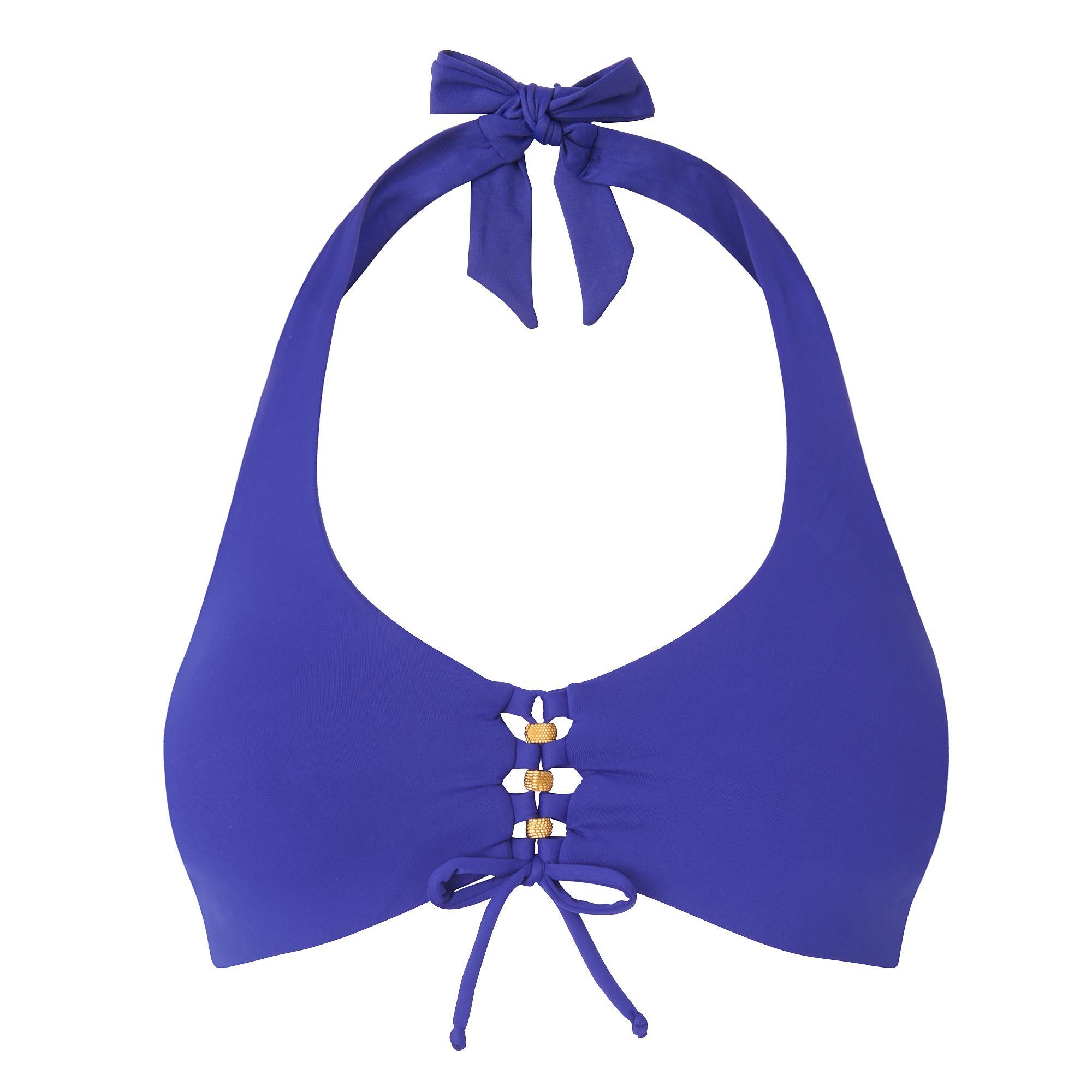 Claudia Blue Bikini Top