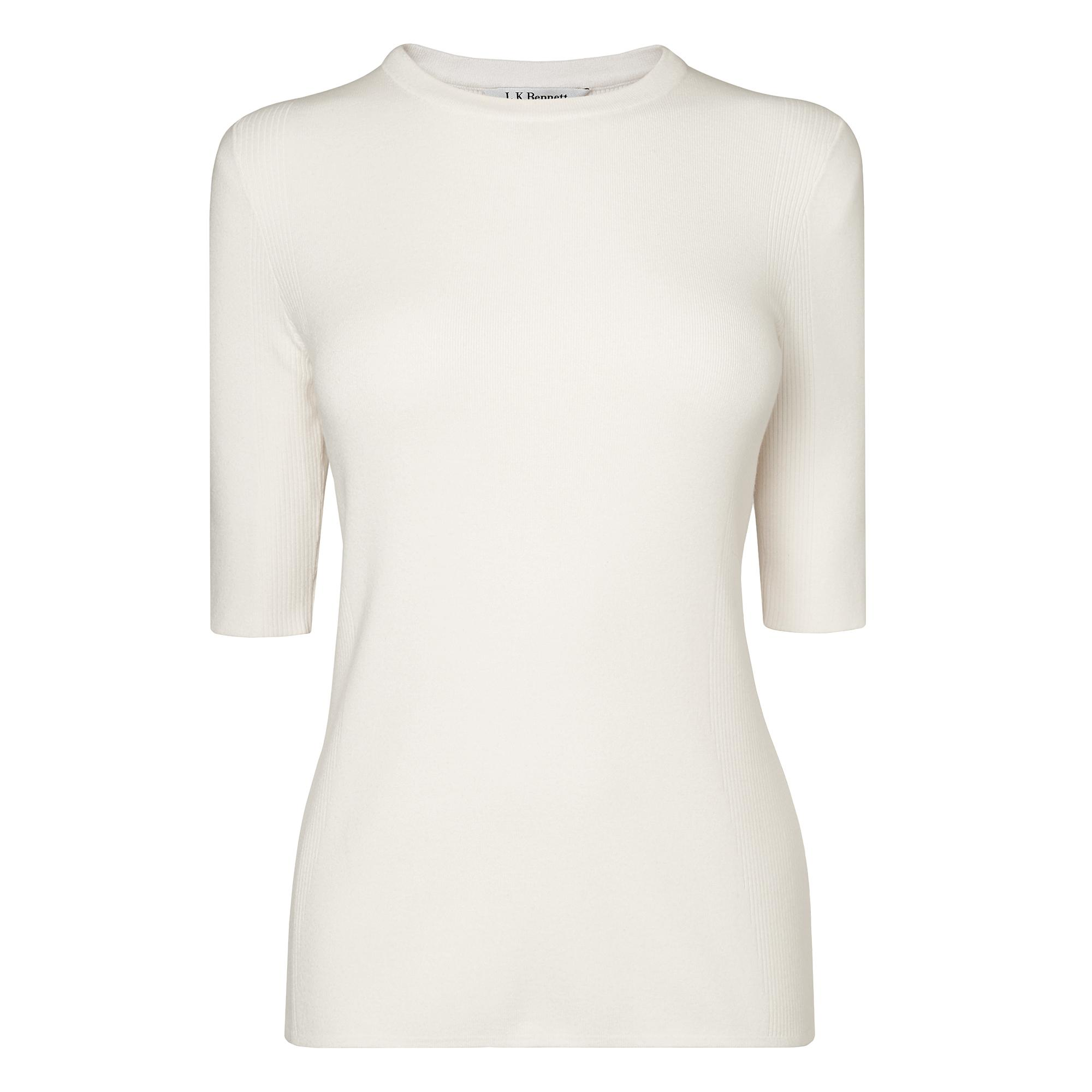 Tomasi Cream Knit Top