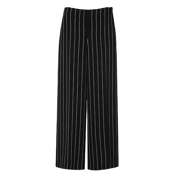 Caralyn Black Wide Stripe Pants