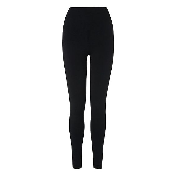 Flo Black Knit Leggings