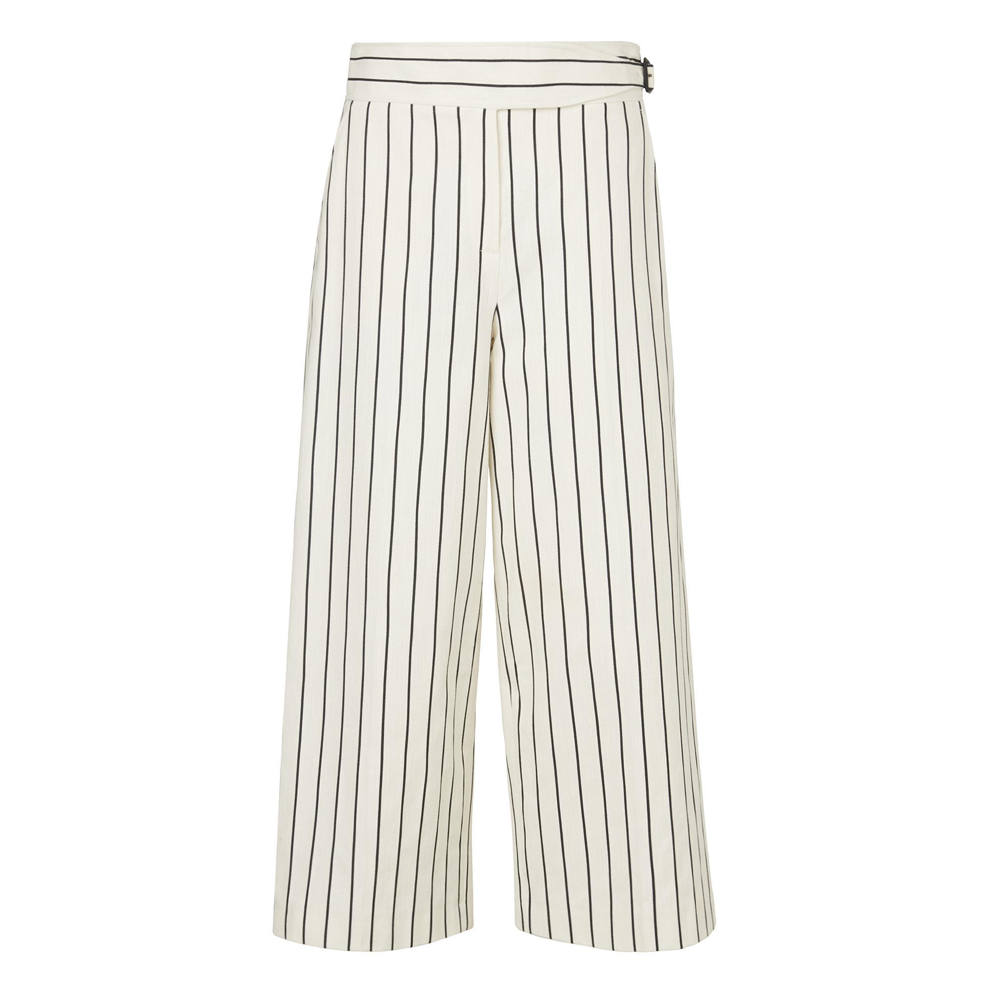Jen White Stripe Pants
