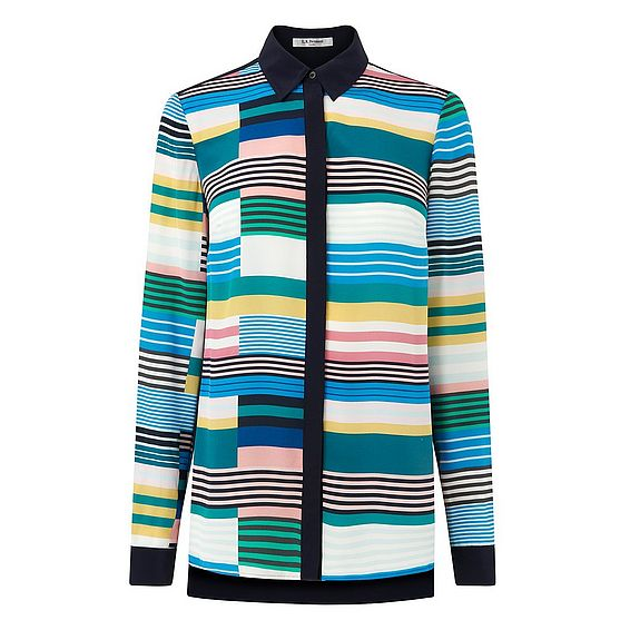 Imogen Multi Color Stripe Top