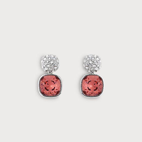 Erin Pink Crystal Earrings