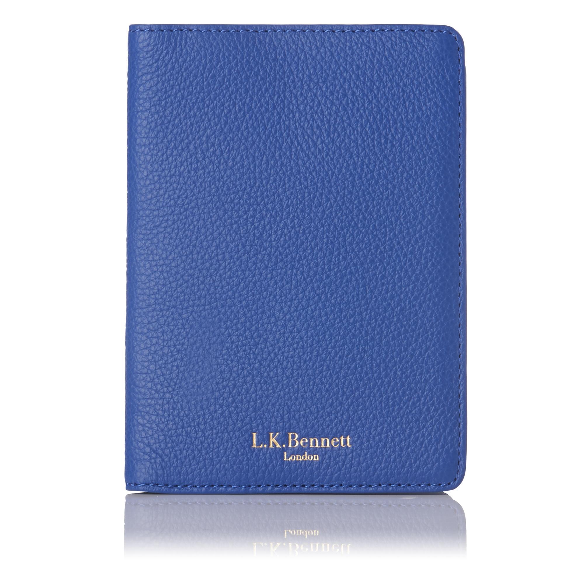 Paige Blue Passport Cover