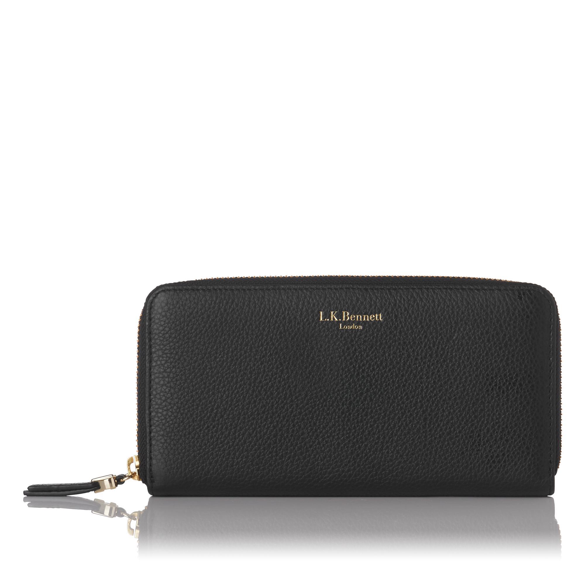 Kenza Black Wallet