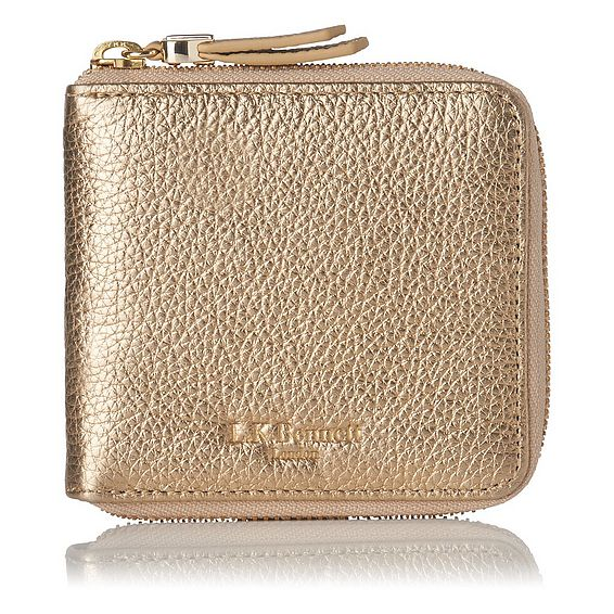 Penelope Gold Wallet