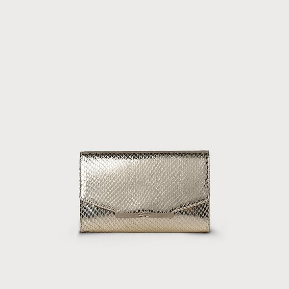 Zadie Champagne Wallet on a Chain