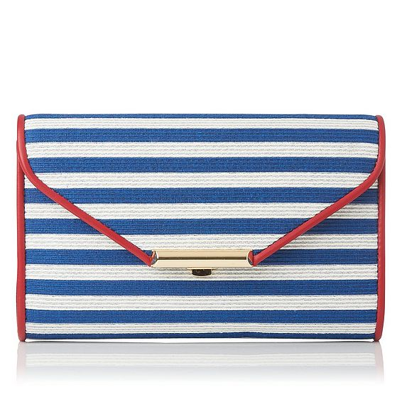 Sissi Red White and Blue Clutch