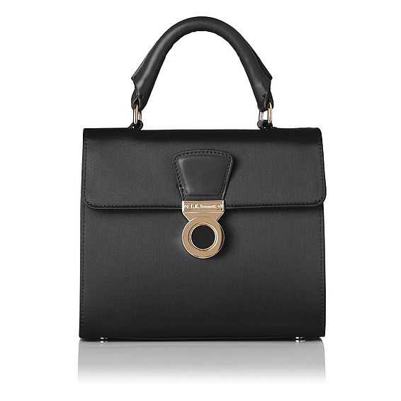 Amelia Black Shoulder Bag