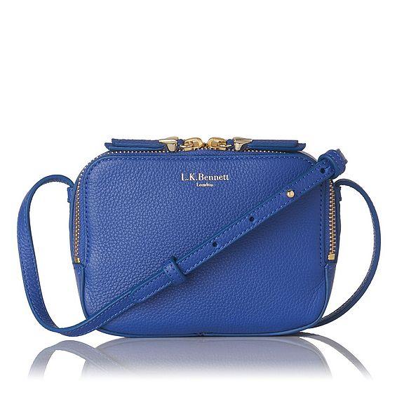 Maggie Blue Crossbody Bag