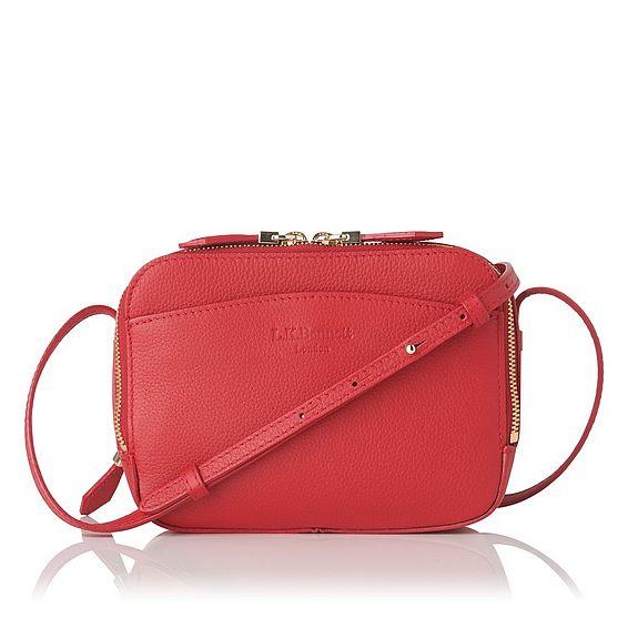Mariel Roca Red Shoulder Bag