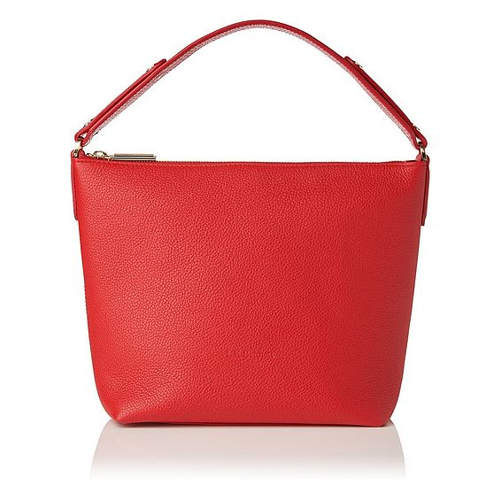 Millie Red Leather Tote Bag