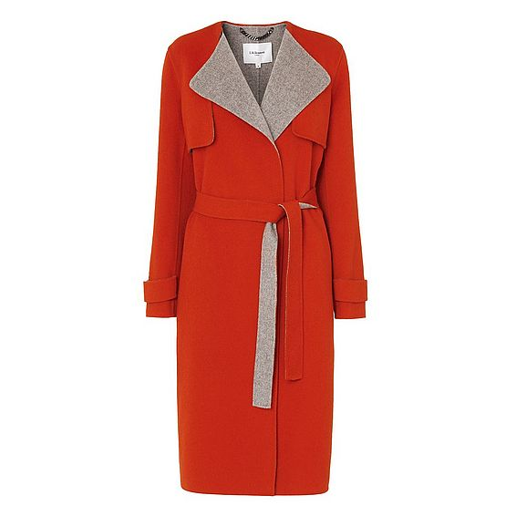 Clemence Red Coat