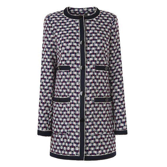 Netti Tweed Coat