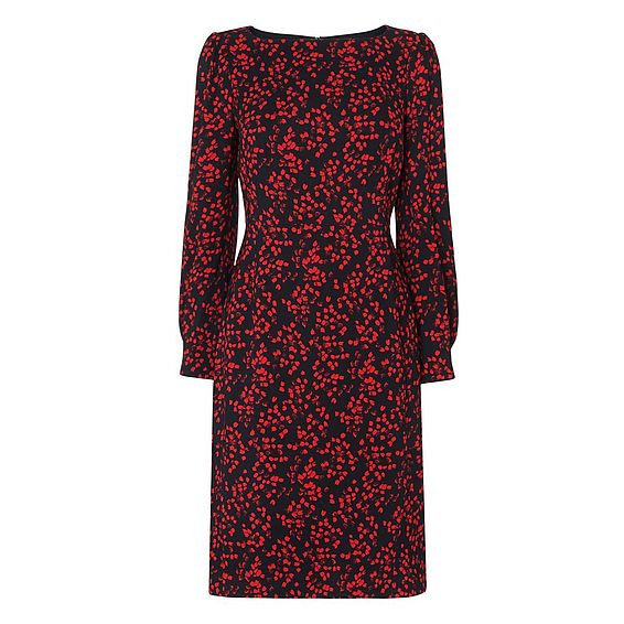 Alex Floral Printed Dress