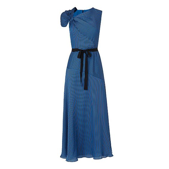Belle Blue Stripe Dress
