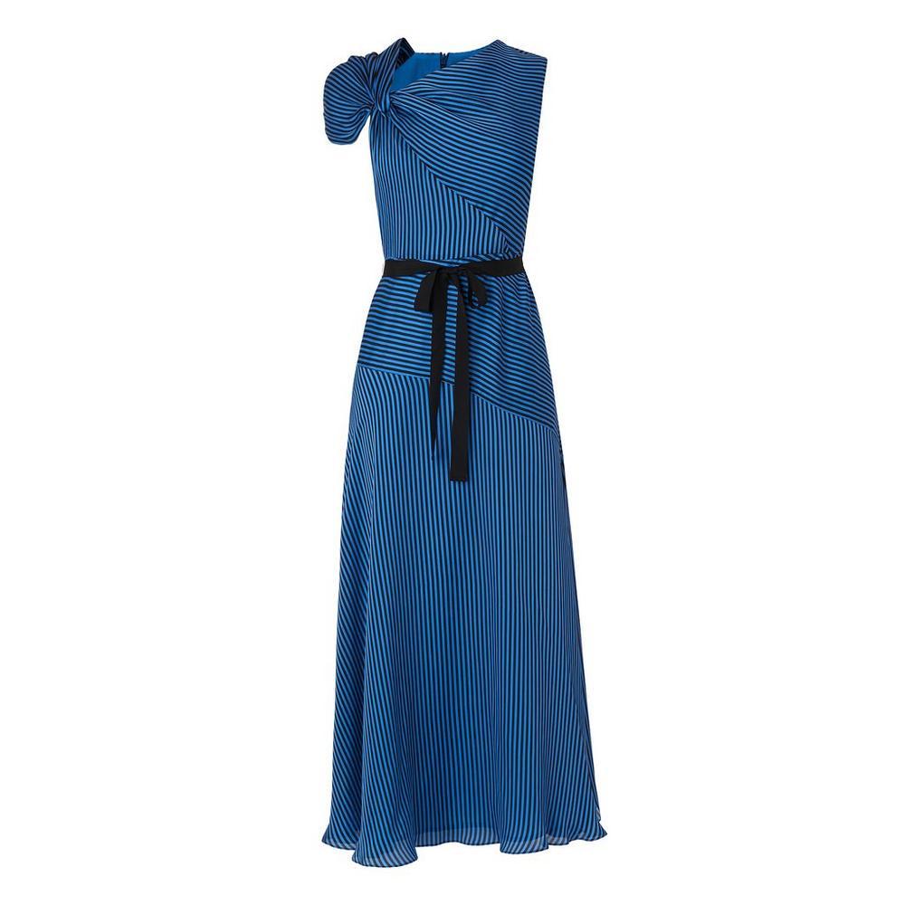 Belle Blue Stripe Dress by L.K.Bennett