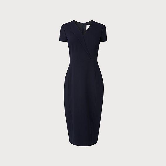 Eline Navy Dress