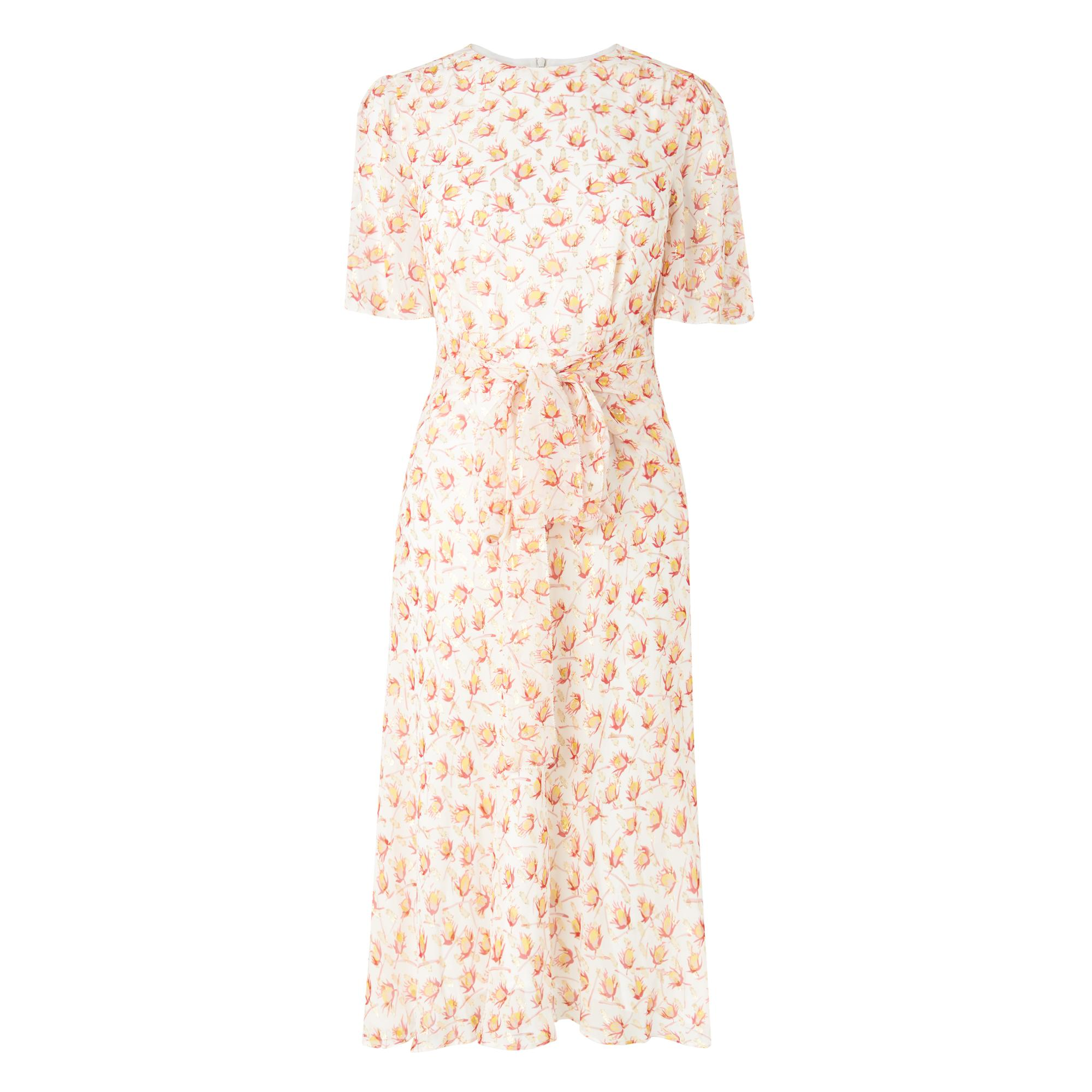 Eve Floral Silk Dress