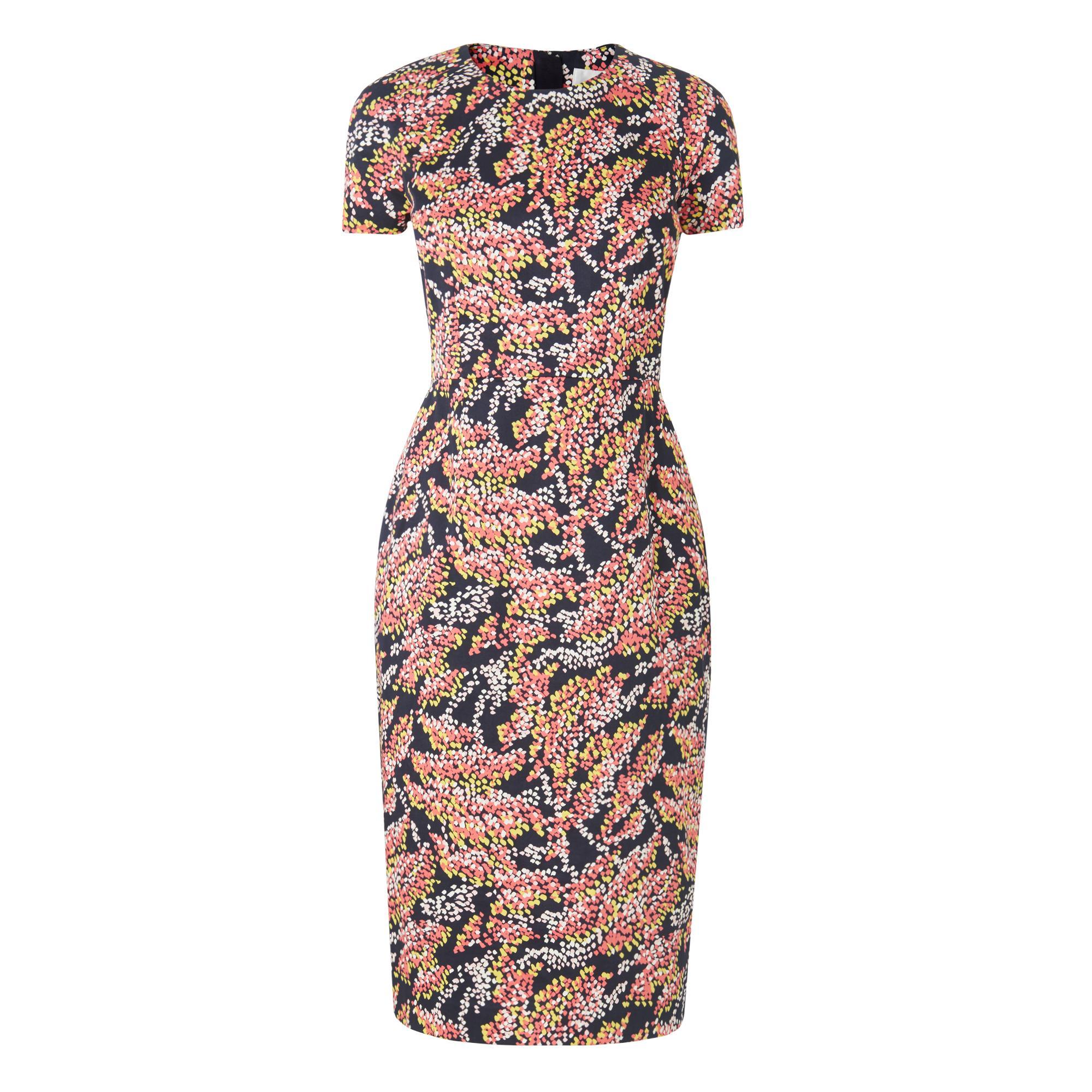 Gabriel Navy Print Dress