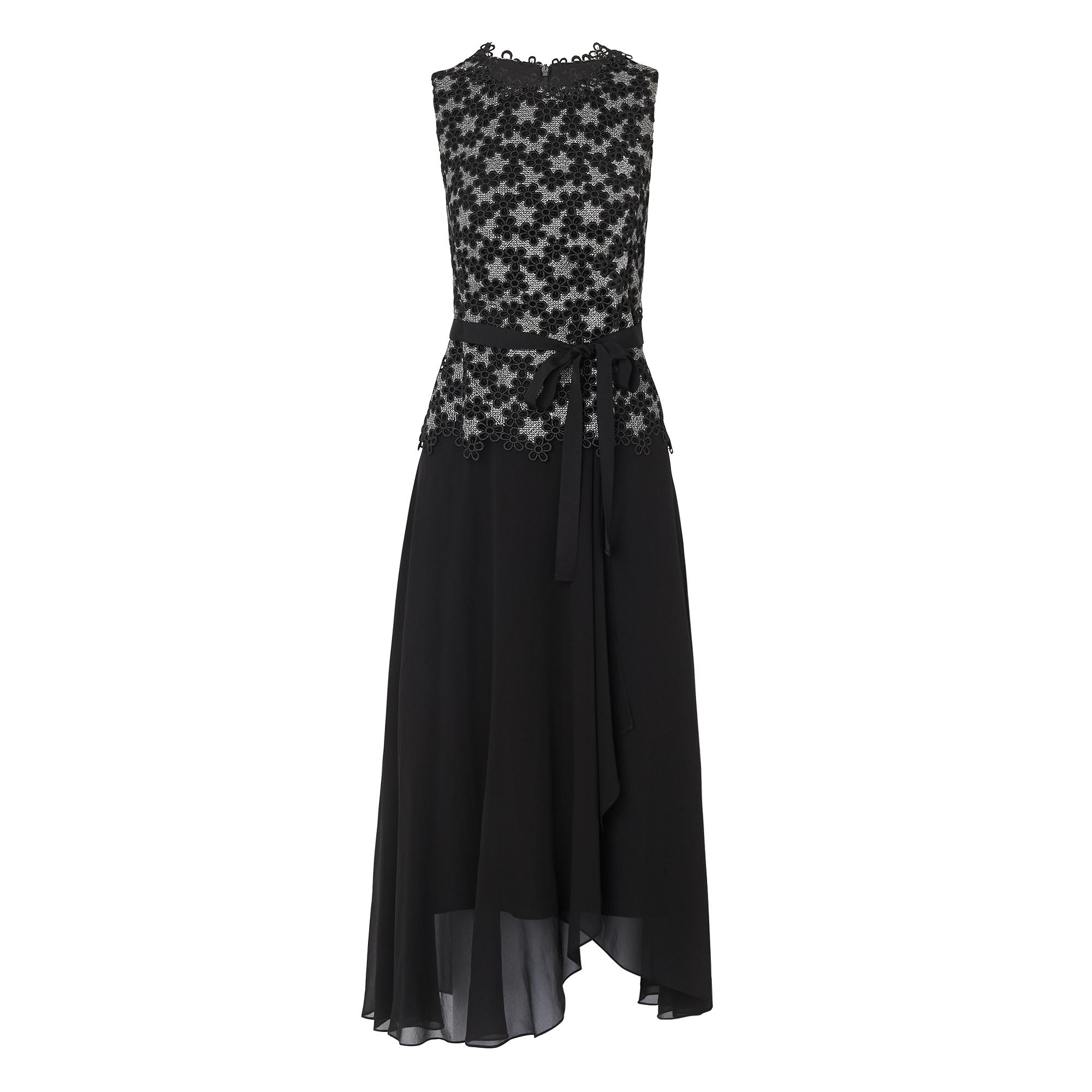 Johanna Black Floral Dress