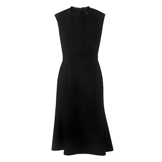 Lou Black Fitted Dress