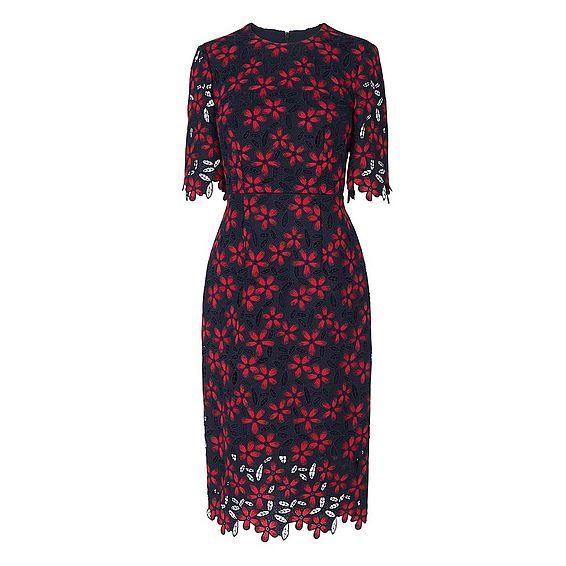 Luann Flower Lace Dress