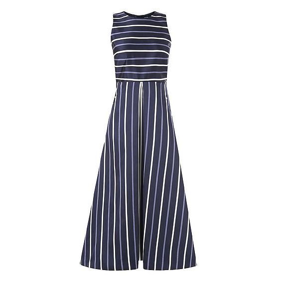 Natalee Blue Stripe Dress