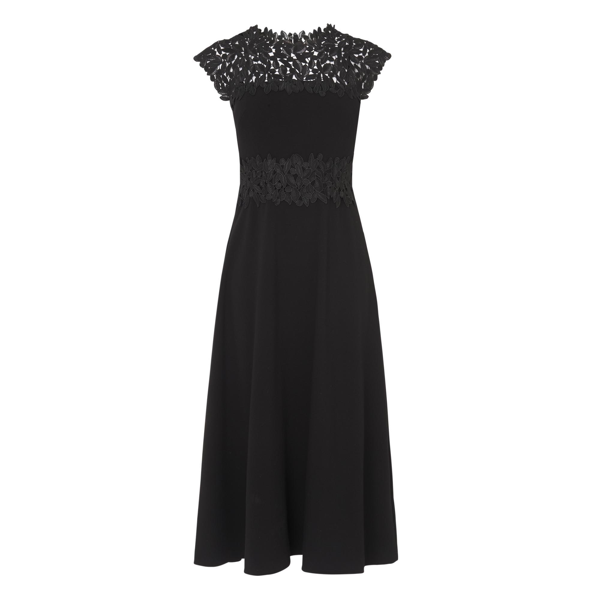 Salena Black Lace Dress