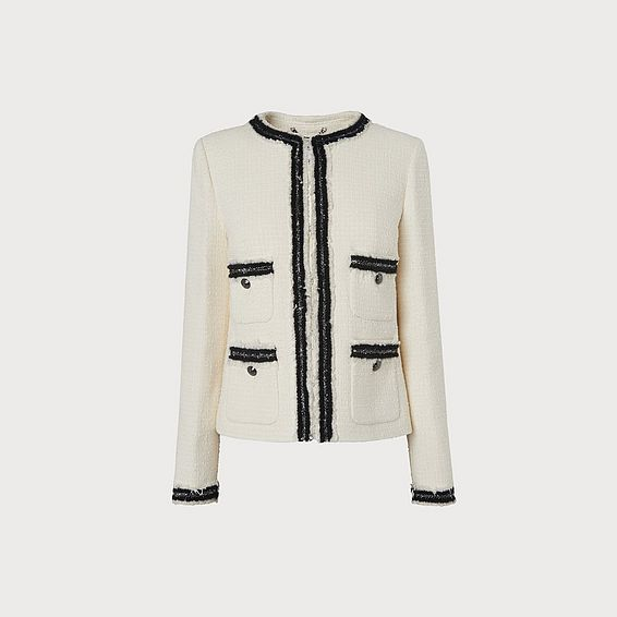Charlee Cream Jacket