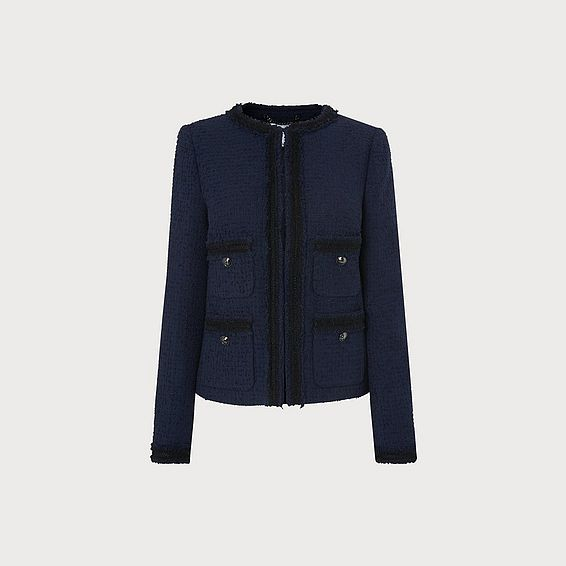 Charlee Navy Jacket