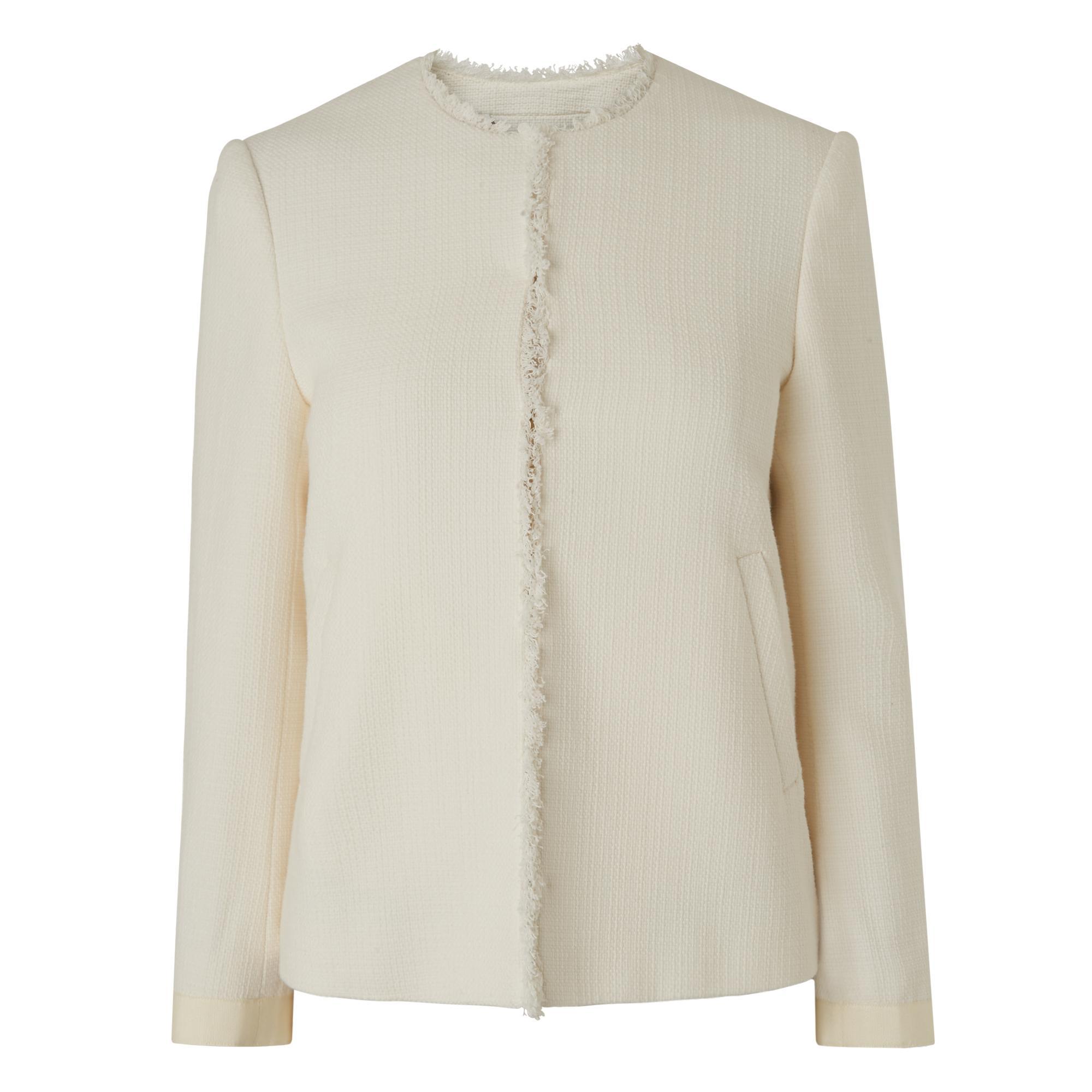 Hazel Cream Tweed Jacket